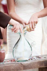 cerimonia della sabbia matrimonio