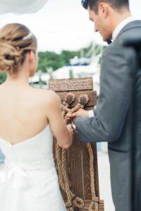 matrimonio simbolico rito della treccia di corda